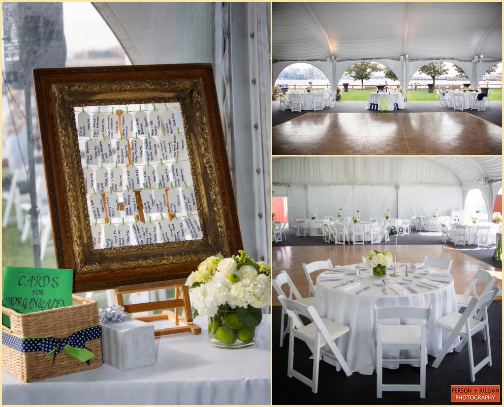 Hyatt Harbor Wedding Decor