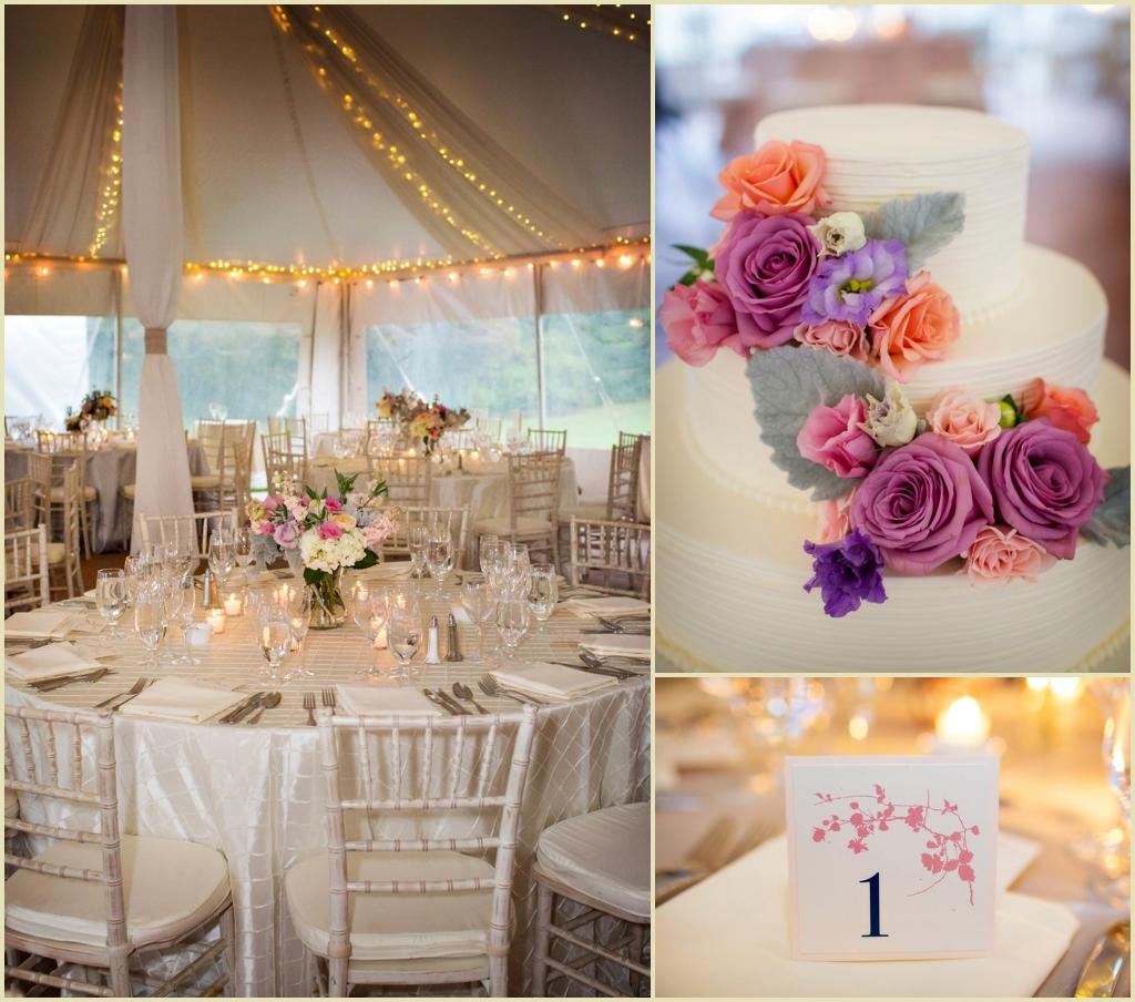 Tented Wedding Reception Pk