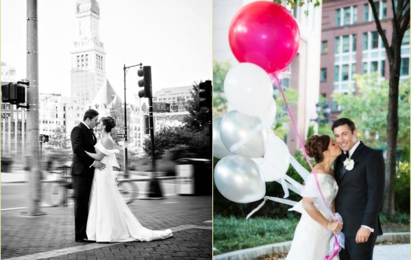 Black and White Inspired Boston Harbor Hotel Wedding