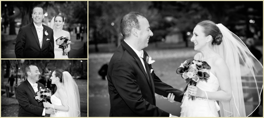 First looks at Boston Four Seasons Wedding