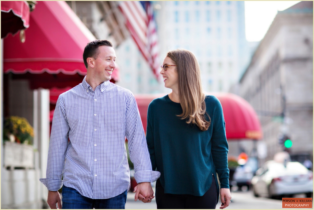 Boston Engagement Photographs 10