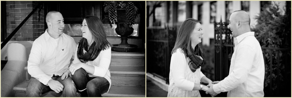 Person + Killian Photography Engagement Photographs Back Bay Boston