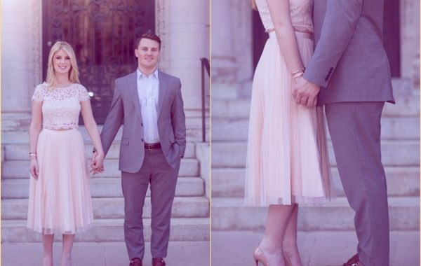 Back Bay Engagement Session Four Seasons Boston Wedding
