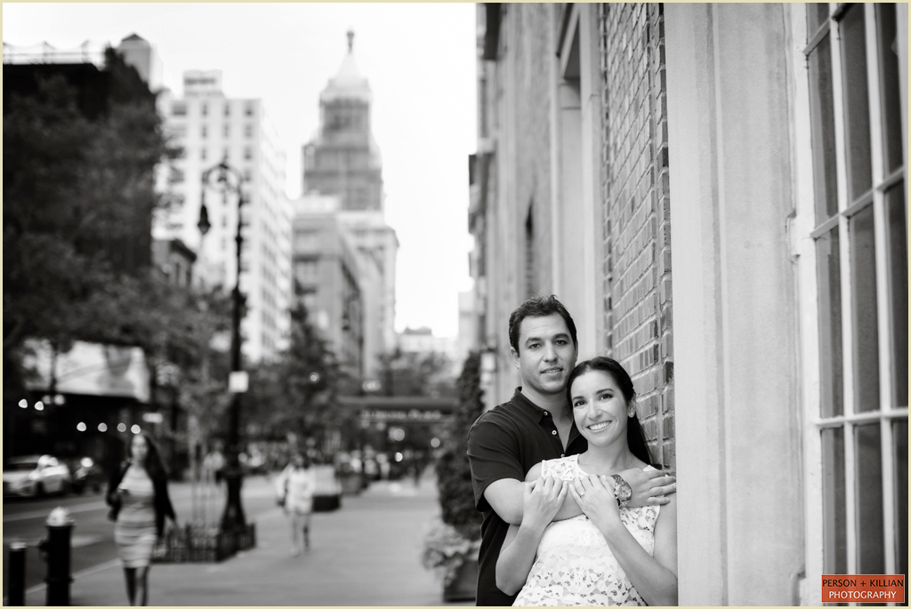 Person + Killian Photography Engagement Photographs Destination New York