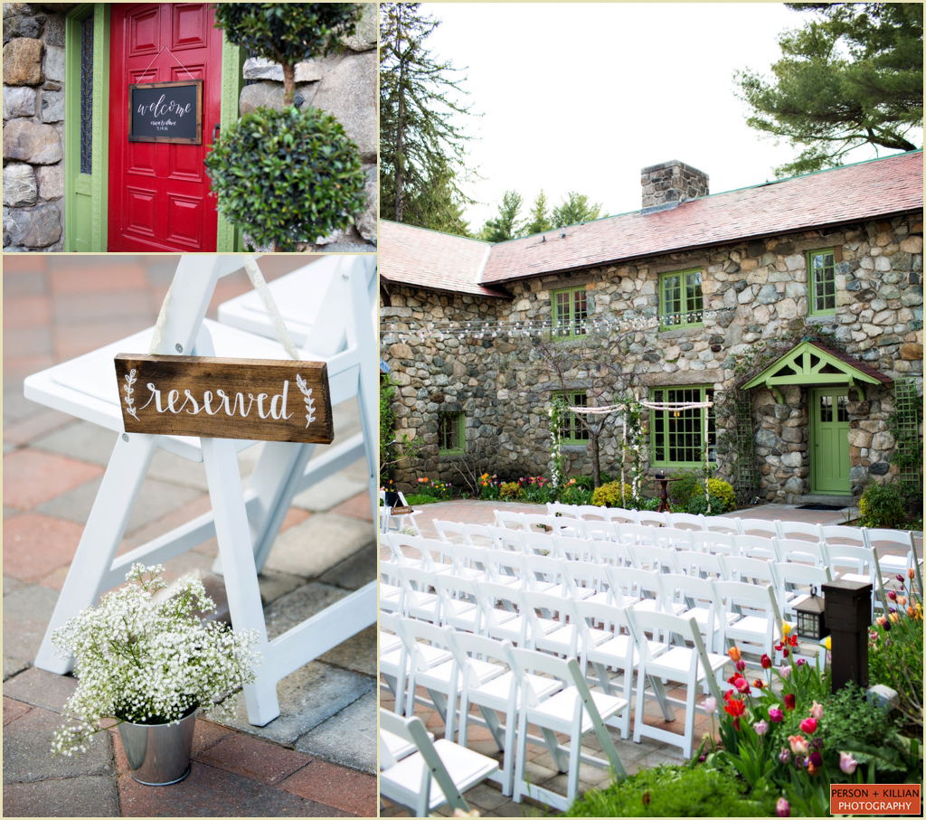 New England Wedding Venues: New England Tented Wedding At Willowdale Estate