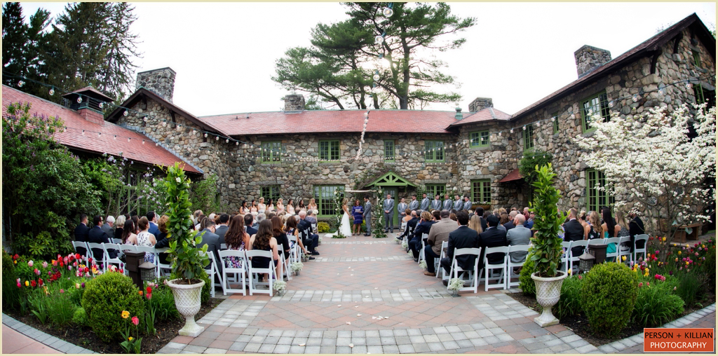Willowdale Estate New England Tented Wedding 018