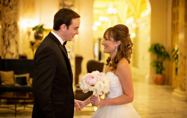 Fairmont Copley Plaza Back Bay Spring Wedding