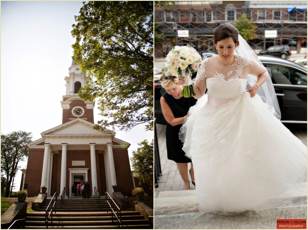 Wellesley Village Church wedding ceremony boston