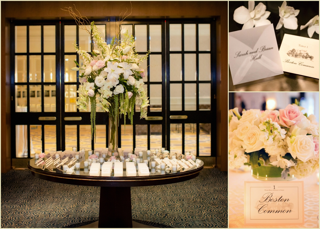 Honey of Lotus Floral Events wedding at the Four Seasons Boston