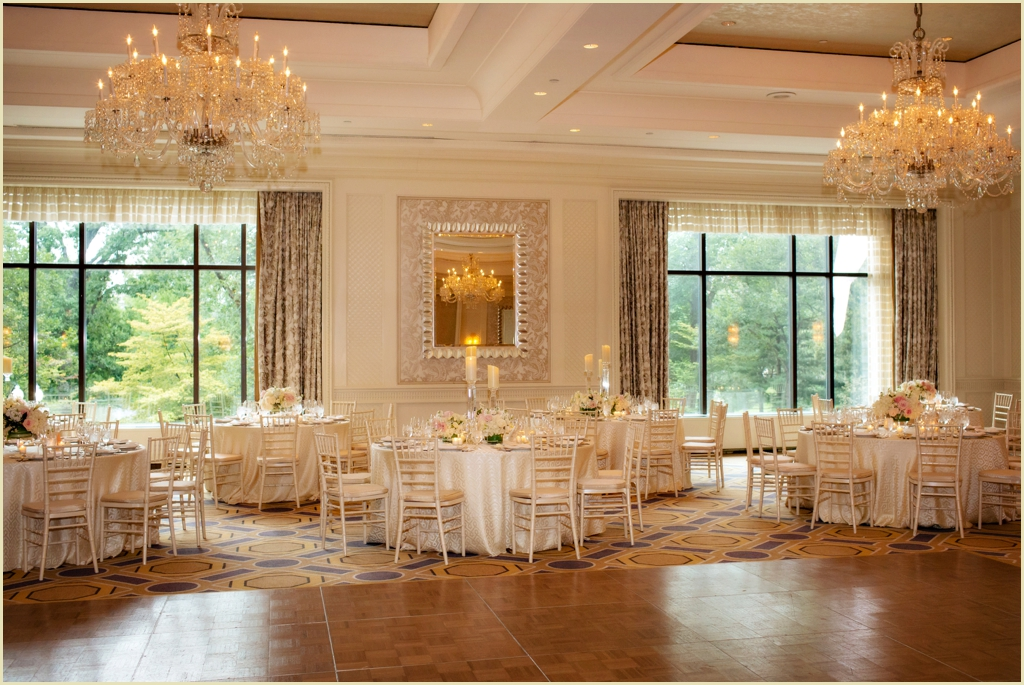 Wedding reception at the four seasons boston