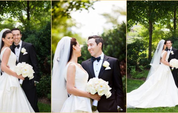 Sophisticated Summer State Room Wedding
