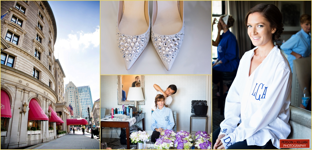 Fairmont Copley Plaza Boston Wedding Shoes Wedding Hair Wedding Makeup Rafanelli Events