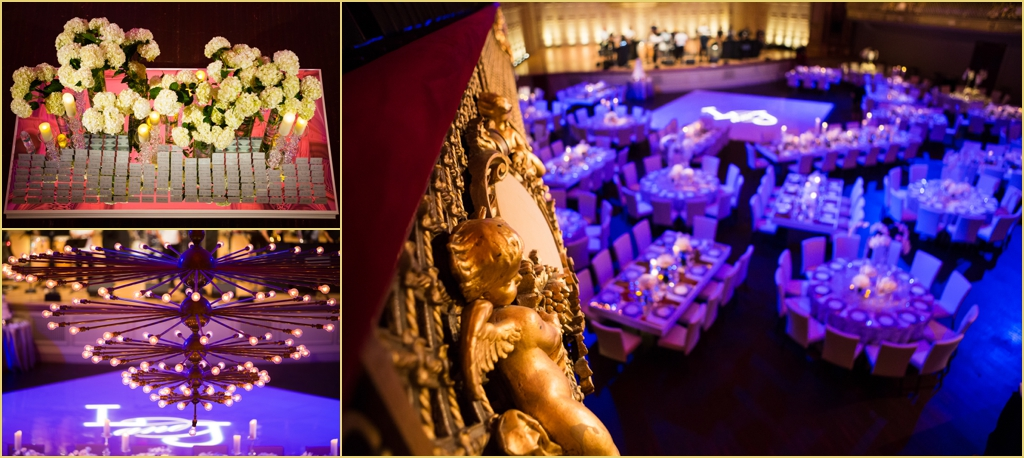 boston symphony orchestra Rafanelli Events Wedding Lighting by Port Lighting and Flowers by Winston
