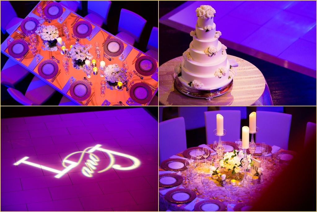 Boston Wedding Decor at boston symphony orchestra with Rafanelli Events Wedding Cakes to Remember and Port Lighting