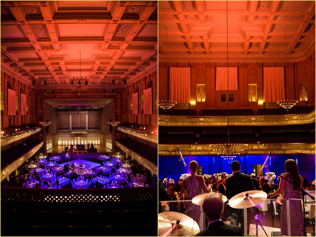 boston symphony orchestra Rafanelli Events Wedding with Veronica Martell Entertainment and Port Lighting