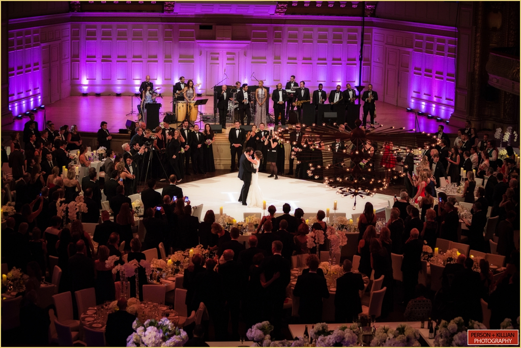 Boston Symphony Orchestra Rafanelli Events Wedding First Dance Of Lauren John