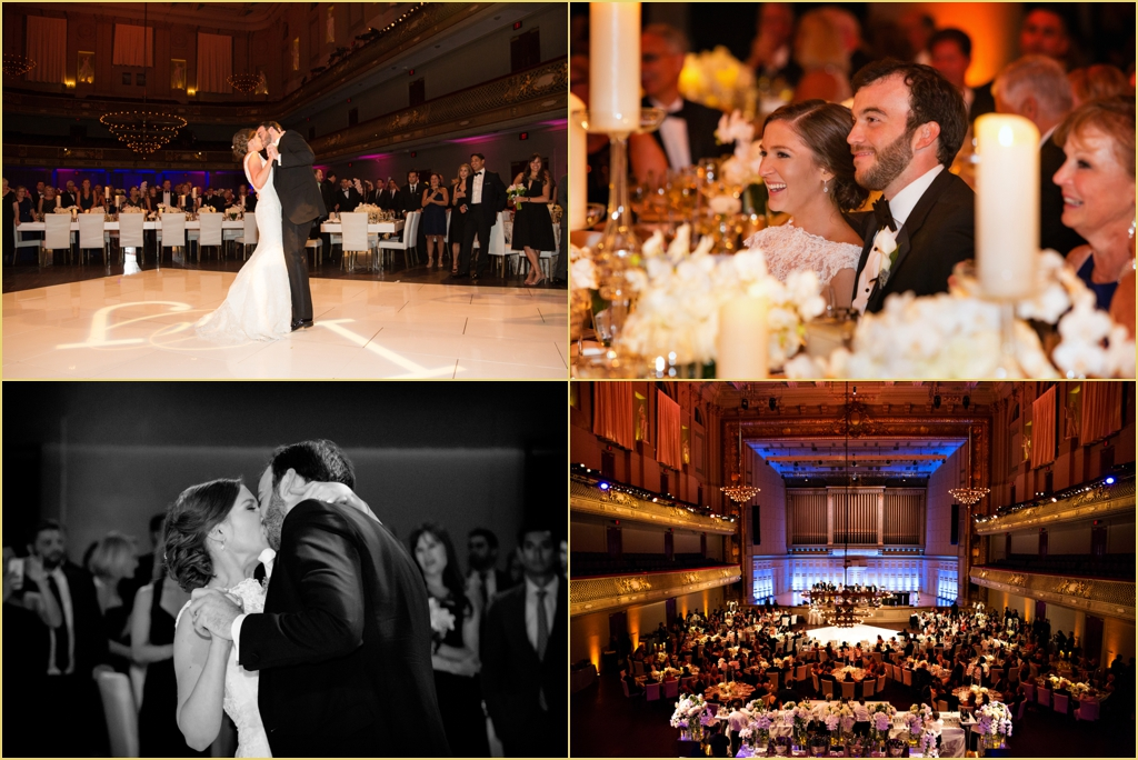 Candid Wedding Photography boston symphony orchestra Rafanelli Events Wedding
