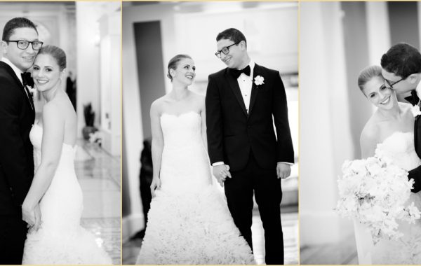 A Classic Jewish Fall Wedding at Boston's Fairmont Copley Plaza