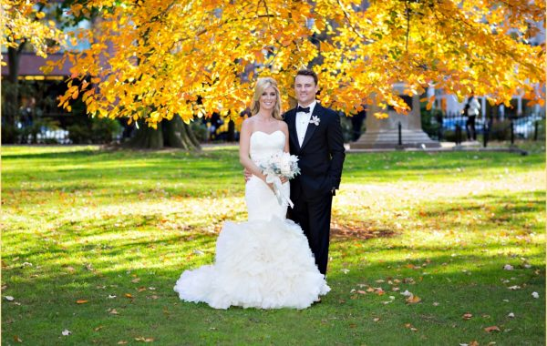 Romantic Fall Four Seasons Wedding in Boston
