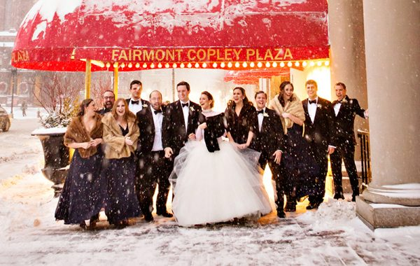 Fairmont Copley Plaza Boston Winter Wedding with Janie Haas Events