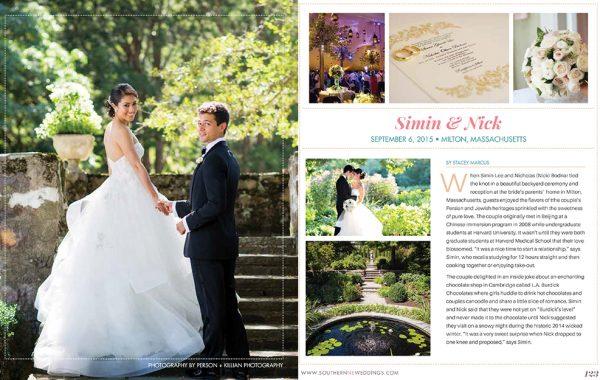 New England Real Weddings - Southern New England Magazine
