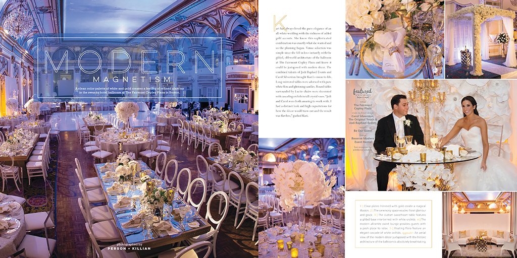 Bliss Celebrations Magazine Real Wedding Feature Fairmont Copley Plaza
