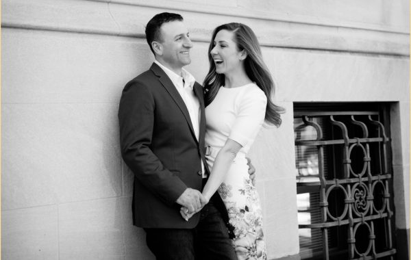 The Boston Engagement Session of Lauren + Nick - Back Bay Boston