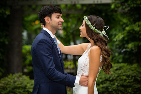Bohemian Chic Wedding at the Museum of Science Boston