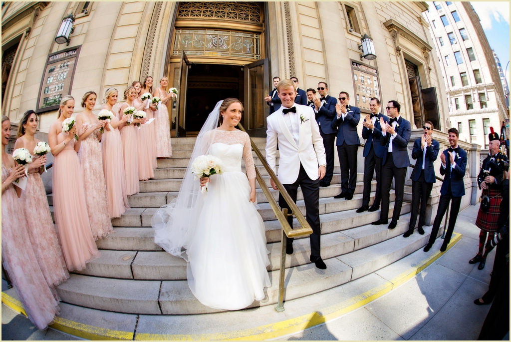 Destination Wedding in New York City   New York Athletic Club