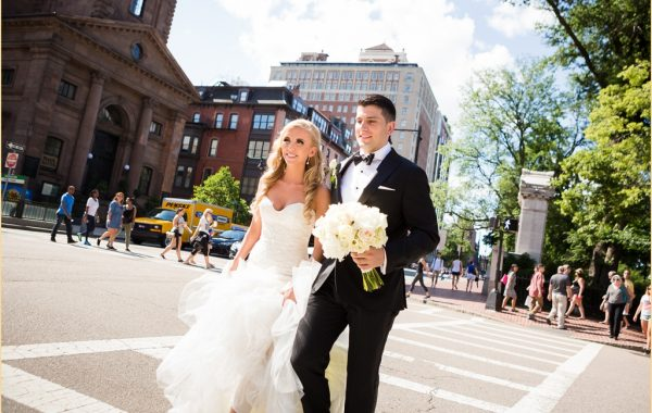 A Summer Boston Park Plaza Hotel Wedding
