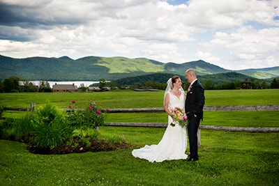 Destination Wedding in Vermont at the Mountain Top Inn & Resort