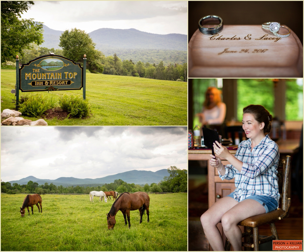 Destination Wedding in Vermont - Mountain Top Inn and Resort