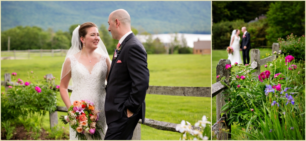 Destination Wedding in Vermont - Mountain Top Inn - Bride Groom