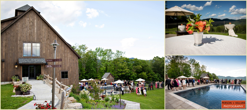 Destination Wedding in Vermont - Mountain Top Inn - Barn Wedding