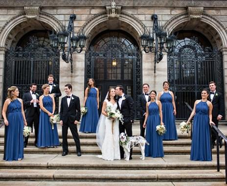 Boston Public Library Summer Wedding