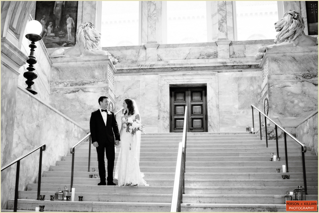 Wedding Venue Boston Public Library