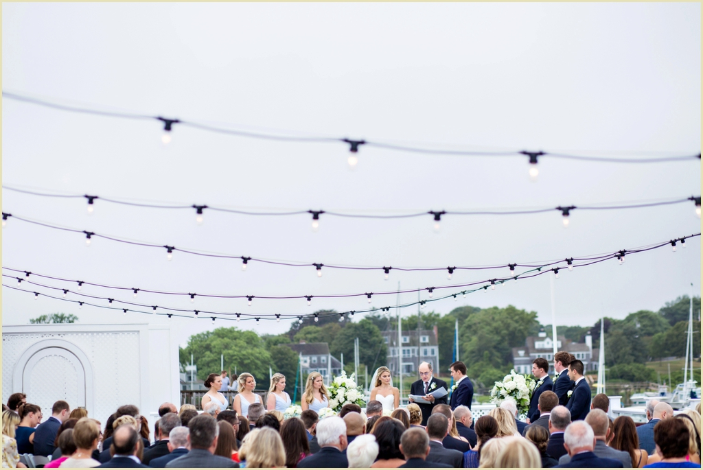 Wychmere Beach Club Wedding Ceremony
