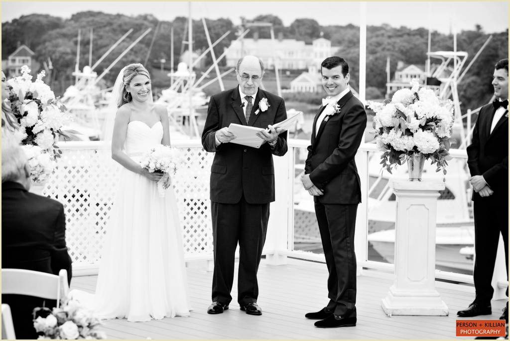 Nautical Cape Cod Wedding Ceremony