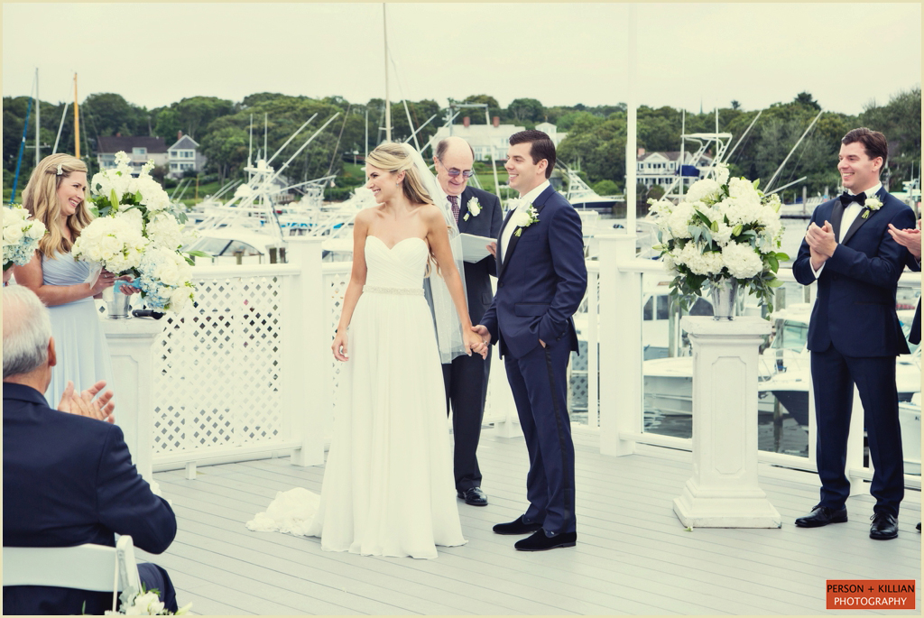 Wedding Ceremony Wychmere Beach Club