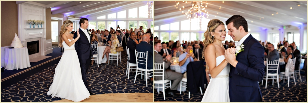 Classic Cape Cod Wedding Reception