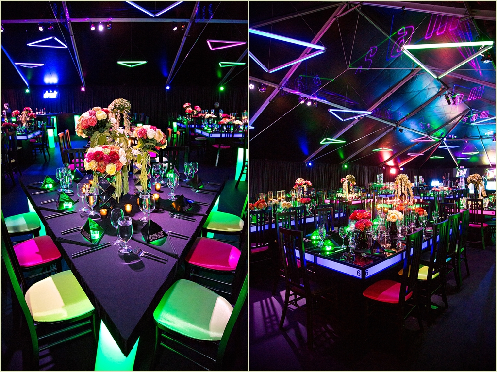 Boston Bat Mitzvah Neon Theme