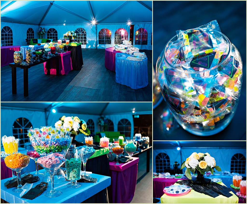 Boston Bat Mitzvah Photography Neon