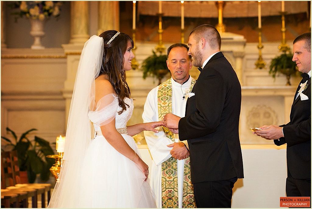 St Cecilias Boston Wedding
