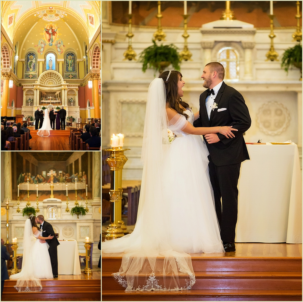 Catholic Wedding St Cecilias Boston