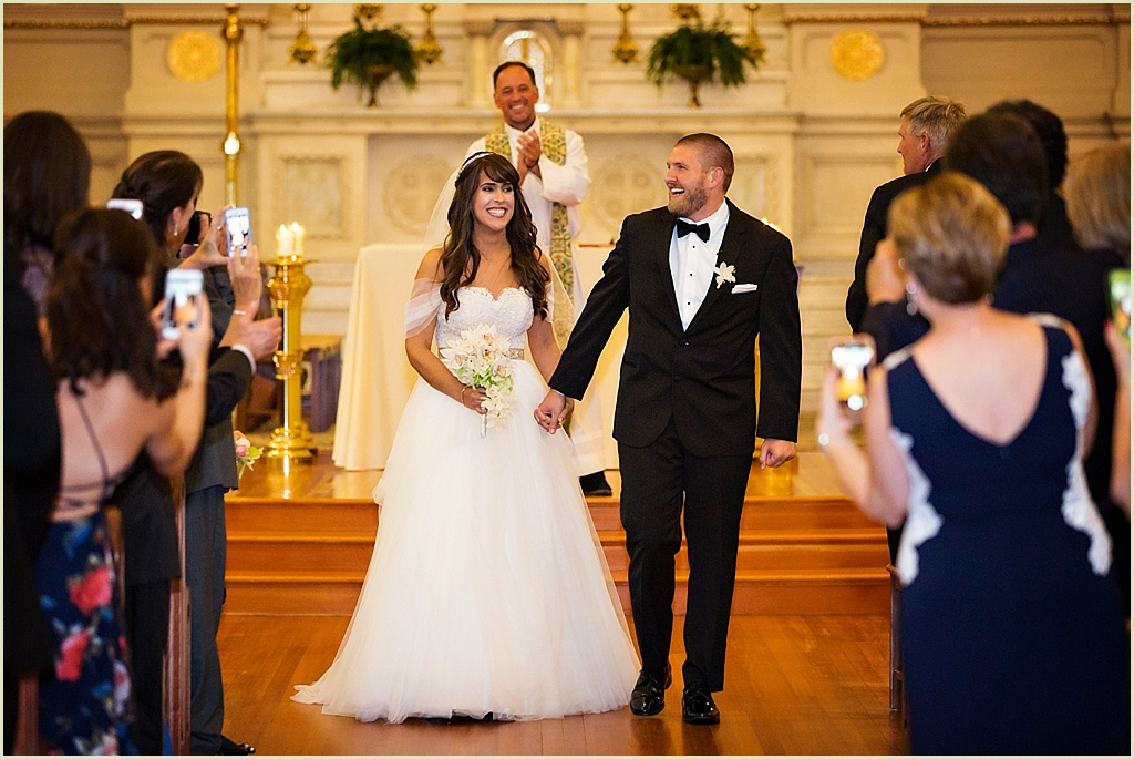 St Cecilias Boston Wedding Ceremony