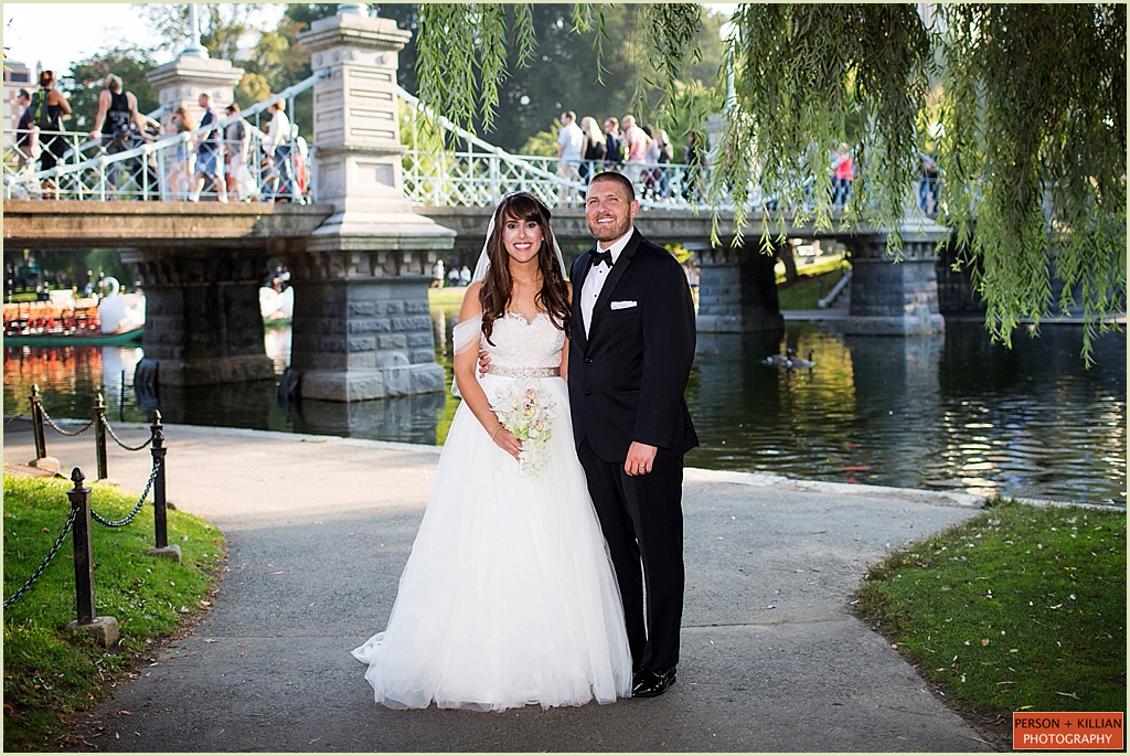Summer Wedding Boston Public Garden