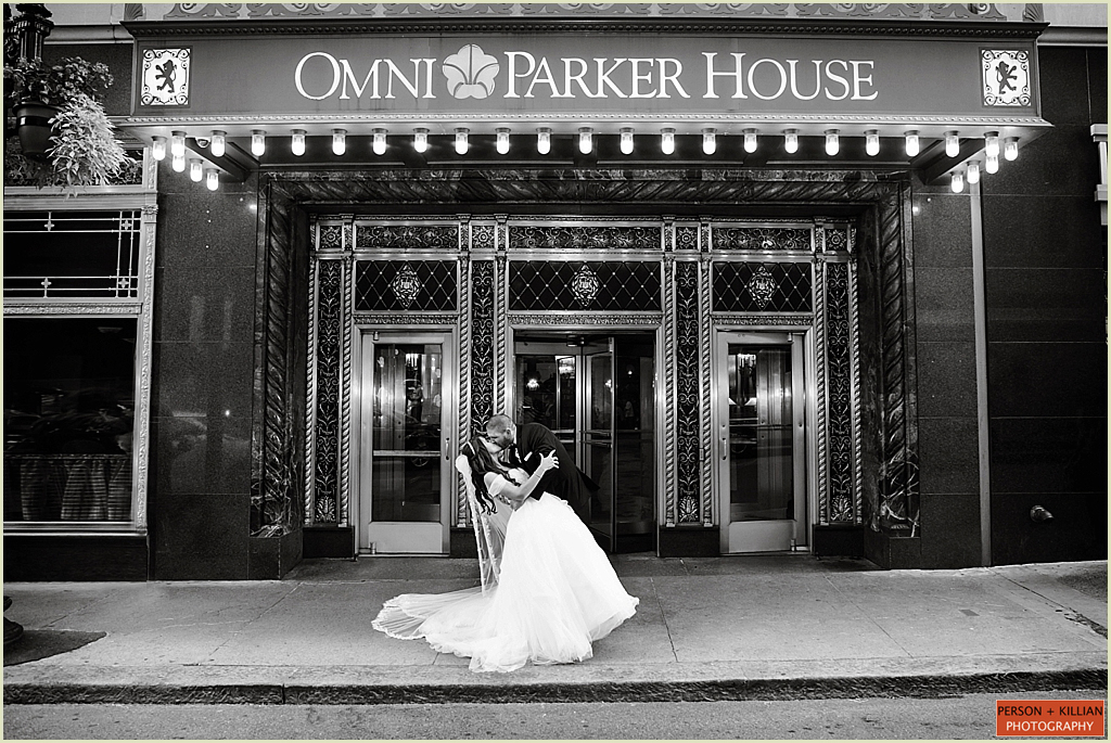 Omni Parker House Boston Wedding