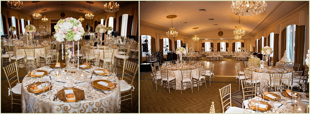 Omni Parker House Ballroom Wedding