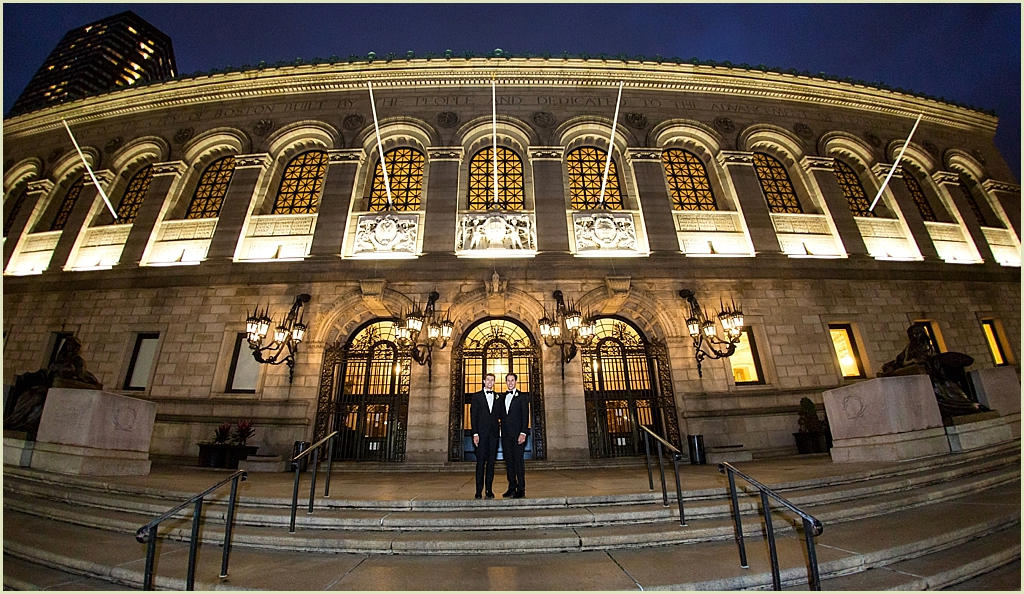 Boston Public Library Wedding Venue