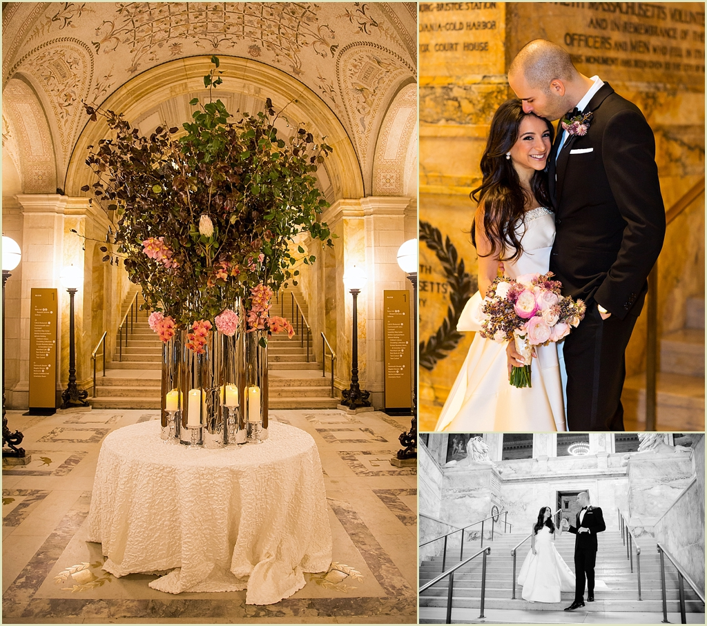 Wedding First Dance Songs 2017: Boston Public Library Wedding With Marc Hall Design
